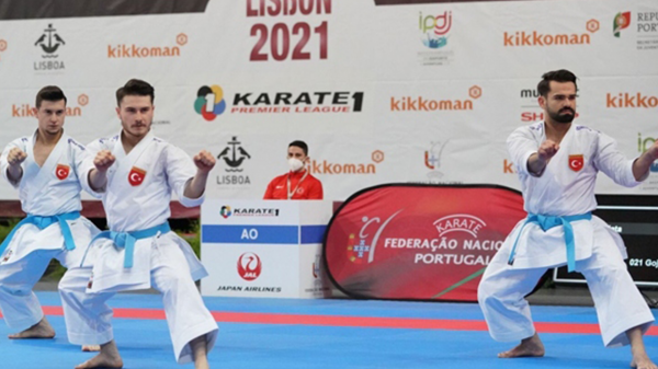 Karatecilerden Lizbon'da 9 madalya