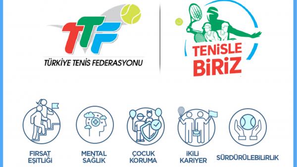 Türkiye Tenis Federasyonu 'Tenisle Biriz' Projesini Hayata Geçiriyor