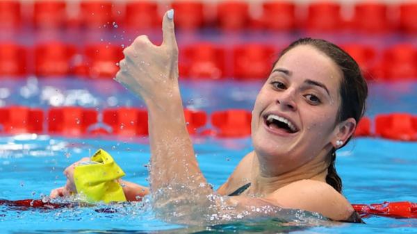McKeown'den olimpiyat rekoru