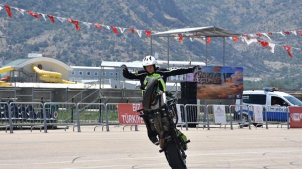 Motosiklette Avrupa Akrobasi Şampiyonası başladı