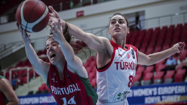 Türkiye, gruptaki 4. maçında Portekiz'i yıktı