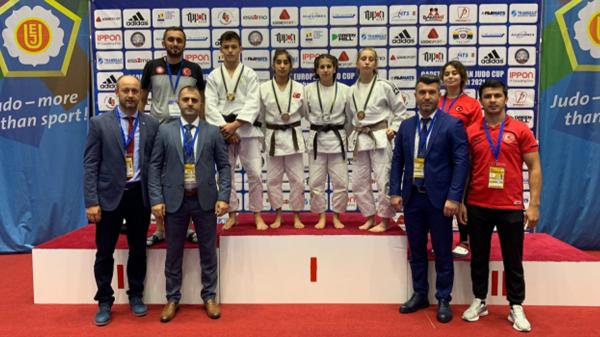 Ümitler Avrupa Judo Kupası'nın ilk gününde 4 madalya