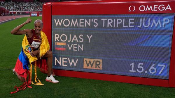 Rojas, 26 yıllık dünya rekorunu tarihe gömdü