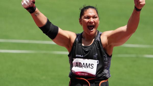 Valerie Adams'tan tarihi başarı