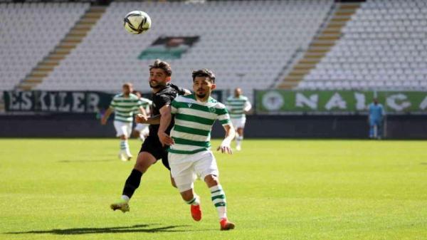 Keçiörengücü Konyaspor ile karşılaştı...