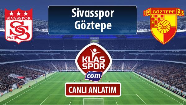 Demir Grup Sivasspor - Göztepe maç kadroları belli oldu...