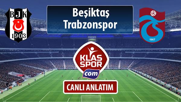 Beşiktaş - Trabzonspor sahaya hangi kadro ile çıkıyor?
