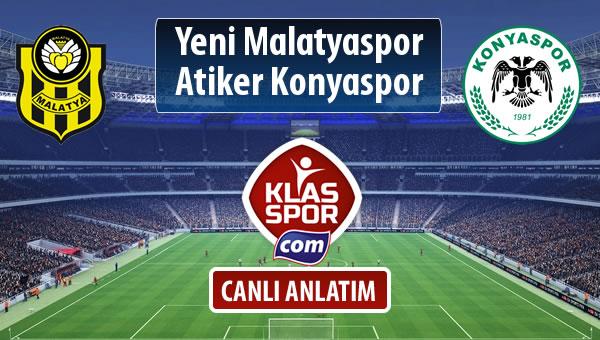 Evkur Y.Malatyaspor - Atiker Konyaspor maç kadroları belli oldu...