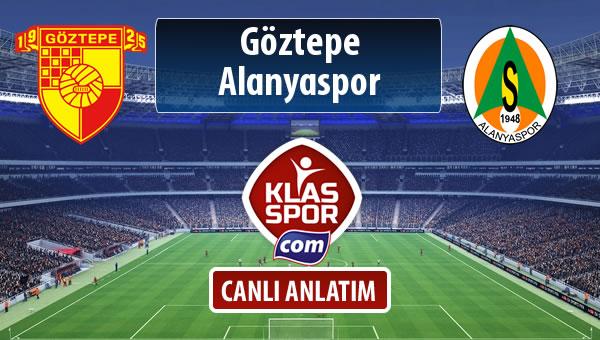 Göztepe - Alanyaspor maç kadroları belli oldu...