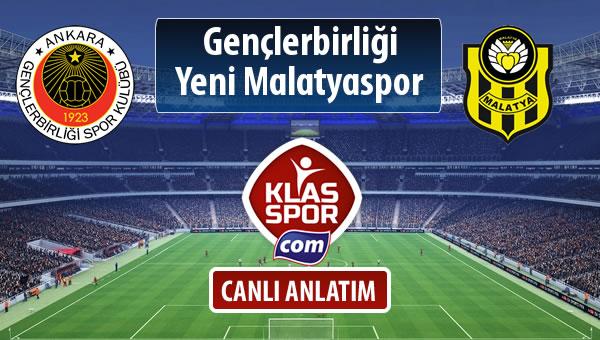 Gençlerbirliği - Evkur Y.Malatyaspor sahaya hangi kadro ile çıkıyor?