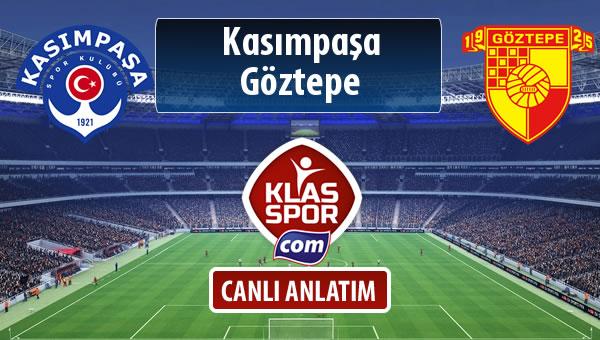 Kasımpaşa - Göztepe sahaya hangi kadro ile çıkıyor?