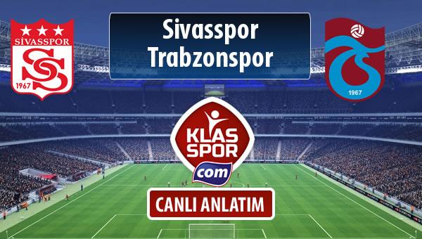 İşte Demir Grup Sivasspor - Trabzonspor maçında ilk 11'ler