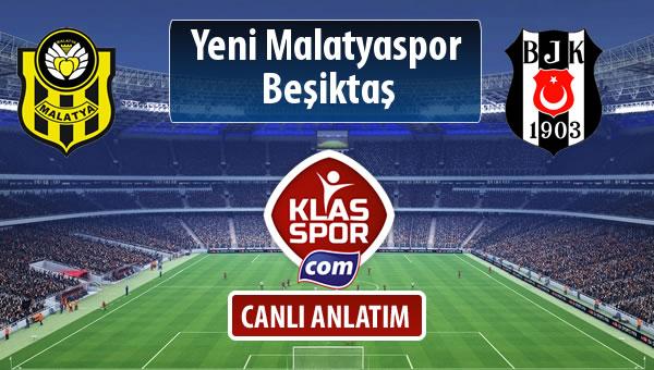 İşte Evkur Y.Malatyaspor - Beşiktaş maçında ilk 11'ler