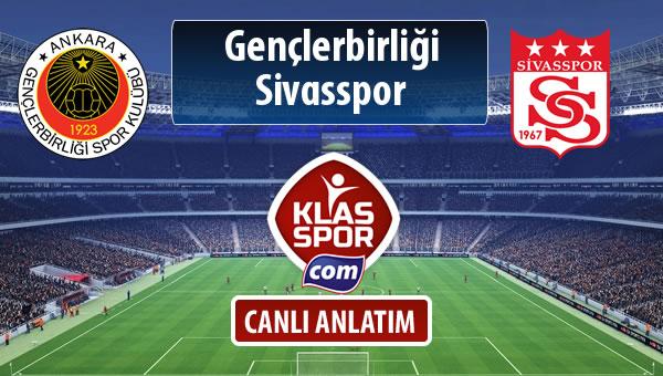Gençlerbirliği - Demir Grup Sivasspor maç kadroları belli oldu...