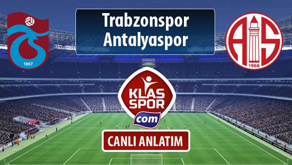 Trabzonspor - Antalyaspor maç kadroları belli oldu...