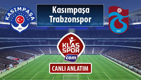 Kasımpaşa - Trabzonspor maç kadroları belli oldu...