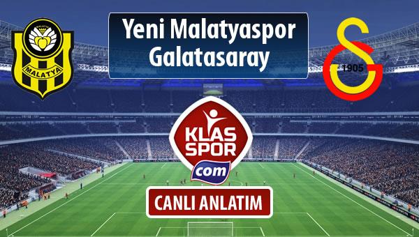 Evkur Y.Malatyaspor - Galatasaray maç kadroları belli oldu...