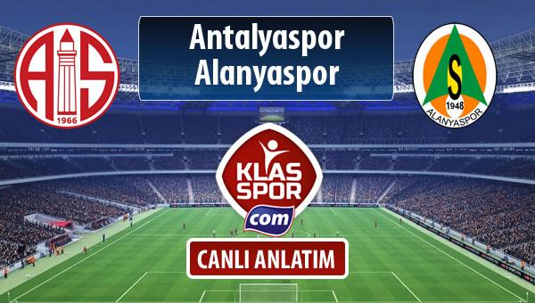 Antalyaspor - Alanyaspor maç kadroları belli oldu...