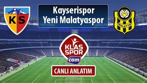 İşte Kayserispor - Evkur Y.Malatyaspor maçında ilk 11'ler