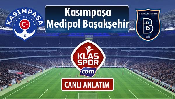 İşte Kasımpaşa - M.Başakşehir maçında ilk 11'ler
