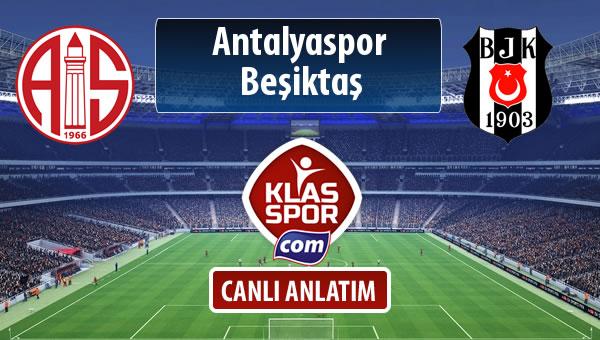 İşte Antalyaspor - Beşiktaş maçında ilk 11'ler