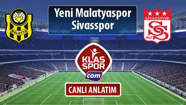 İşte Evkur Y.Malatyaspor - Demir Grup Sivasspor maçında ilk 11'ler