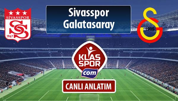 Demir Grup Sivasspor - Galatasaray maç kadroları belli oldu...