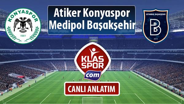 İşte Atiker Konyaspor - M.Başakşehir maçında ilk 11'ler