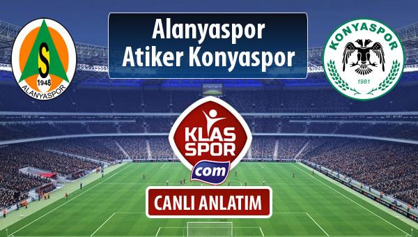 Alanyaspor - Atiker Konyaspor maç kadroları belli oldu...