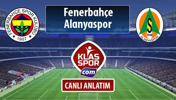 İşte Fenerbahçe - Alanyaspor maçında ilk 11'ler