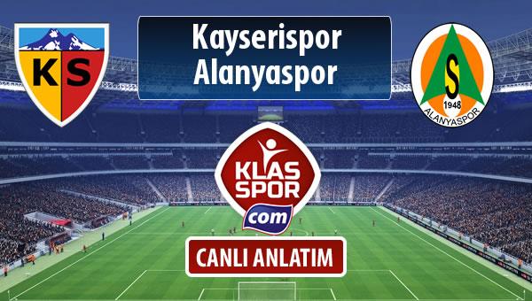 İşte Kayserispor - Alanyaspor maçında ilk 11'ler