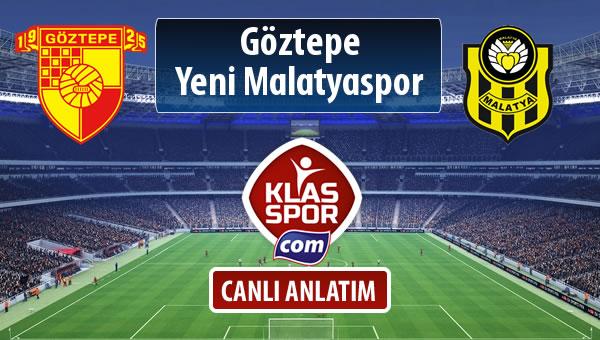 Göztepe - Evkur Y.Malatyaspor maç kadroları belli oldu...