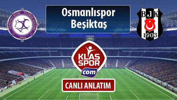 İşte Osmanlıspor - Beşiktaş maçında ilk 11'ler
