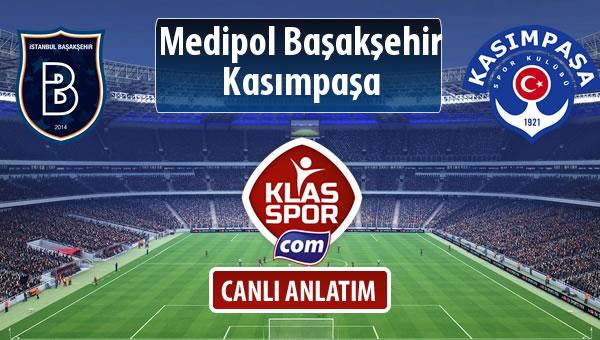 M.Başakşehir - Kasımpaşa maç kadroları belli oldu...