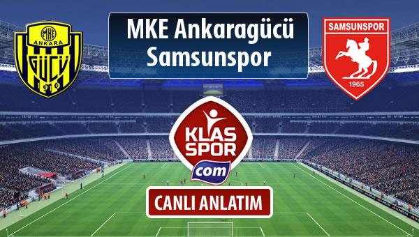 MKE Ankaragücü - Samsunspor maç kadroları belli oldu...
