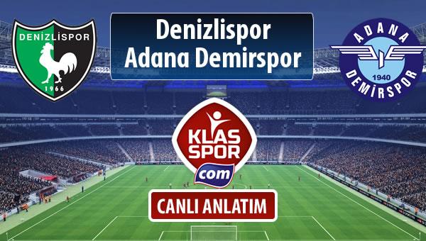 İşte Denizlispor - Adana Demirspor maçında ilk 11'ler