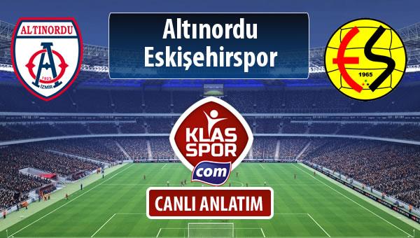 Altınordu - Eskişehirspor maç kadroları belli oldu...