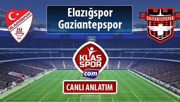 Elazığspor - Gaziantepspor maç kadroları belli oldu...