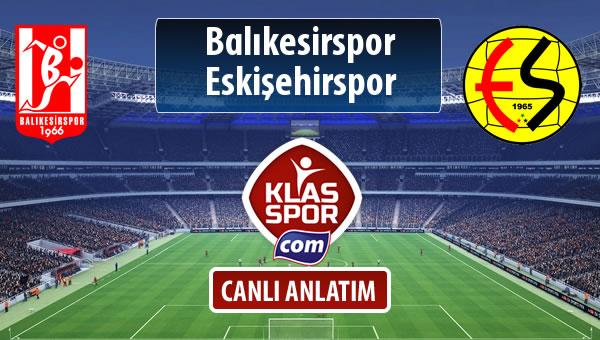Balıkesirspor Baltok - Eskişehirspor maç kadroları belli oldu...