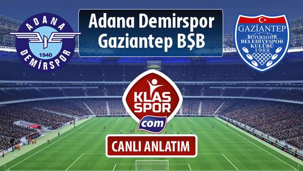 İşte Adana Demirspor - Gazişehir Gaziantep FK maçında ilk 11'ler