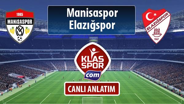 Manisaspor - Elazığspor maç kadroları belli oldu...