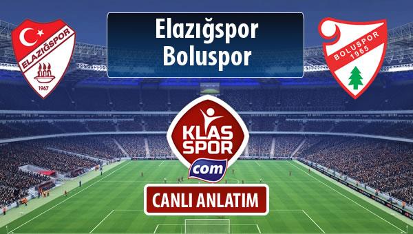 Elazığspor - Boluspor sahaya hangi kadro ile çıkıyor?