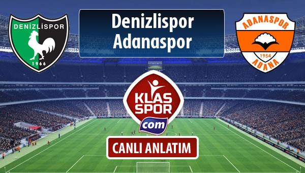 İşte Denizlispor - Adanaspor maçında ilk 11'ler