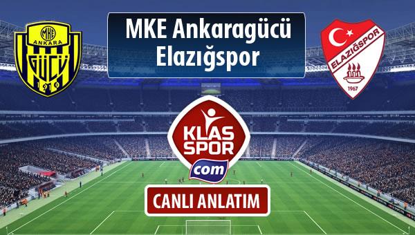 MKE Ankaragücü - Elazığspor maç kadroları belli oldu...