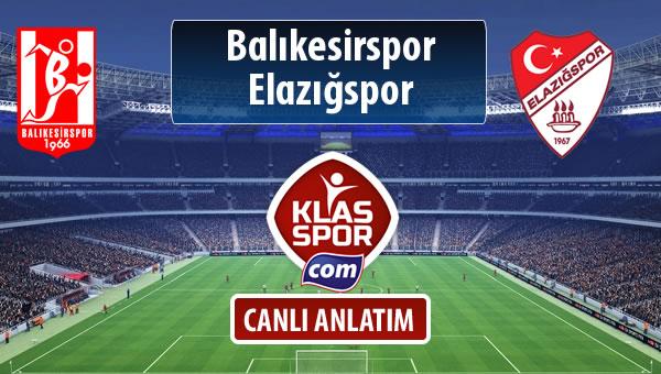 Balıkesirspor Baltok - Elazığspor maç kadroları belli oldu...