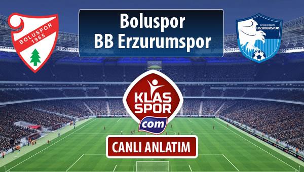 Boluspor - BB Erzurumspor sahaya hangi kadro ile çıkıyor?