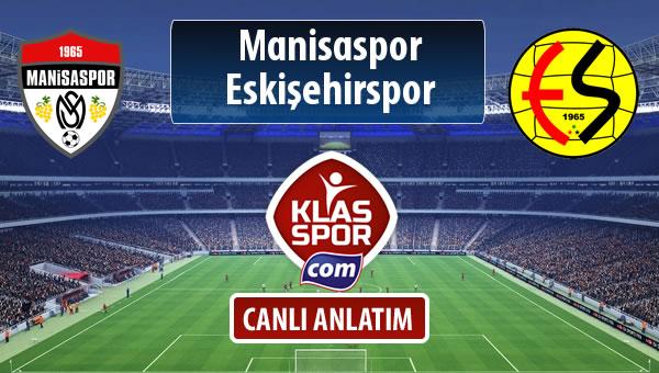 Manisaspor - Eskişehirspor maç kadroları belli oldu...