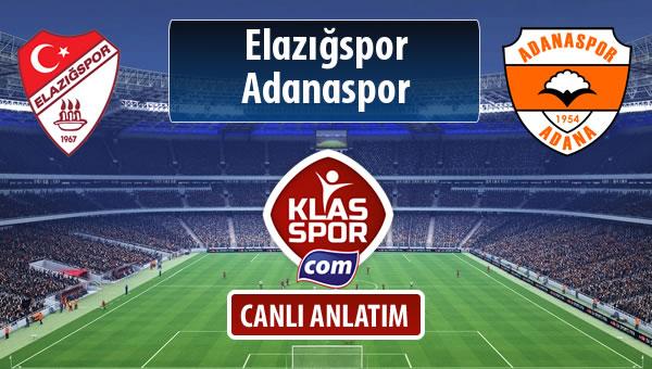 İşte Elazığspor - Adanaspor maçında ilk 11'ler