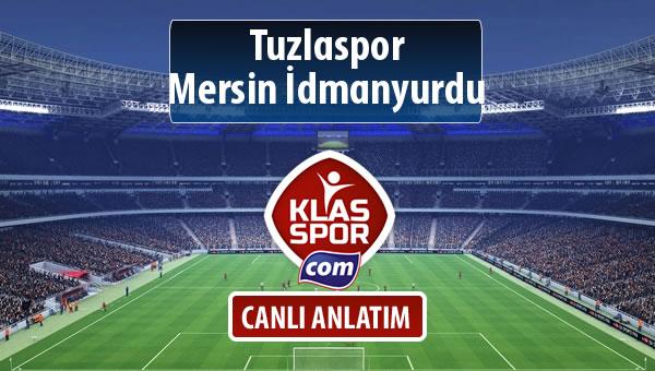 İşte Tuzlaspor - Mersin İdmanyurdu maçında ilk 11'ler