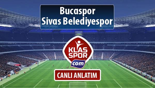 Bucaspor - Sivas Belediyespor sahaya hangi kadro ile çıkıyor?